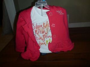 Girls Carter's outfit- size 2-NEW