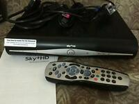 Sky hd box with wifi including remote cables instructions in box