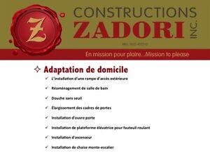 ADAPTATION DE DOMICILE Gatineau (PAD) 819 665-0266