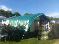 Sunncamp 350se trailer tent