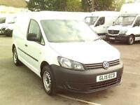 Volkswagen Caddy C20 1.6TDI 75PS STARTLINE VAN DIESEL MANUAL WHITE (2015)