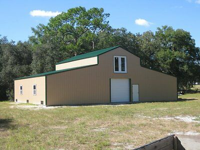 2 Story American Barn--all Galvanized Steel Insulated Building - Garage-metal