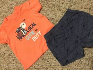 Baby boy 3 m clothing  mostly Carter's