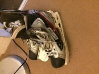 Bauer ice hockey skates size 9