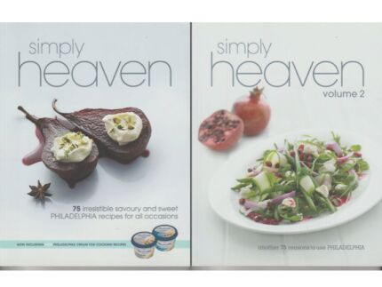 SIMPLE HEAVEN PHILADELPHIA COOKBOOK COLLECTION $20.00 EACH (NEW)