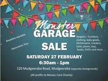 Monster Garage Sale Mudgeeraba Gold Coast South Preview