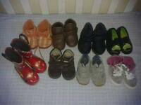 Footwear from Newborn to size 13