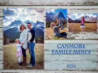 Canmore Family Mini Sessions $250