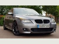 BMW 5 Series 2.0 520d M Sport Saloon 4dr Diesel Manual((IMMACULATE+SAT NAV+3 MONTHS WARRANTY))