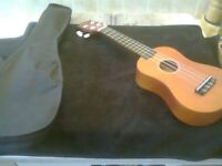 Kids Tiger Guitar As New With Case