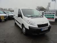 Peugeot Expert 1200 1.6 Hdi 90 L2 H1 Van DIESEL MANUAL WHITE (2013)