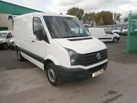 Volkswagen Crafter CR30 swb Low Roof 109ps DIESEL MANUAL WHITE (2015)