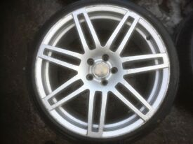 """20"""" AUDI RS4 STYLE ALLOY WHEELS / TYRES"""
