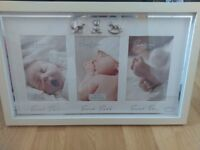 Two brand new photo frames gift