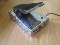 Morley Tel-Ray Volume Pedal 60s/70s Vintage Chrome