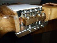 Bass guitar (travel) custom made