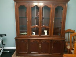 Mahogany Buffet and Hutch