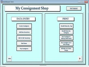 Consignment shop business plan
