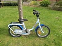 """PUKY Z6 Children's bicycle 16"""" Inch OCEAN (RRP £160)"""