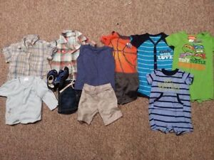 3-6 Month lot of boy summer clothes
