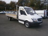 Mercedes-Benz Sprinter 313 CDI LWB 3.5t Dropside DIESEL MANUAL WHITE (2015)