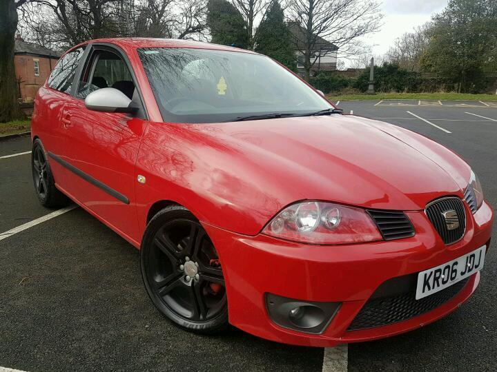 2006 seat ibiza fr modified with low mileage in hyde manchester gumtree. Black Bedroom Furniture Sets. Home Design Ideas