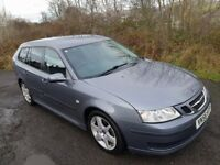 Saab 9-3 Linear 1.9 Tid **DIESEL**ESTATE**12 MONTHS MOT**F.S.H**Just had a service**50MPG