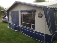 Isabella Mistral Awning frame 14-16, A size complete with detachable bedroom attachment