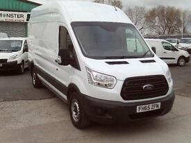 Ford Transit T350 L3 H3 125ps DIESEL MANUAL WHITE (2015)