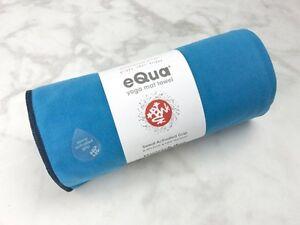 Manduka eQua Yoga Mat Towel Playa Blue 72