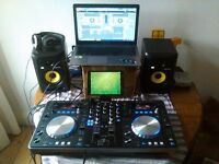 XDJ-R1, KRK Monitor Speakers and Laptop with Virtual DJ 8 PRO Full