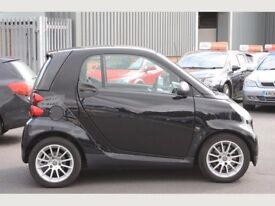 Smart Fortwo 1.0 2dr Coupe Black, Low Mileage