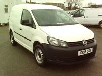 Volkswagen Caddy C20 TDI 102PS STARTLINE VAN DIESEL MANUAL WHITE (2015)