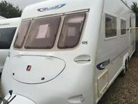 Fleetwood heritage 640/eb 2004 touring caravan