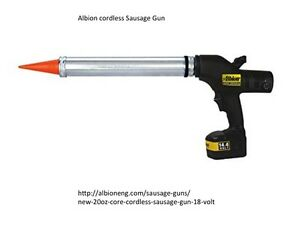 Caulk Gun Cordless AIBION - applicateur silicone électrique Saguenay Saguenay-Lac-Saint-Jean image 1