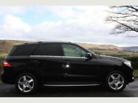 MERCEDES ML350 AUTOMATIC BLACK 2013 GREAT CAR