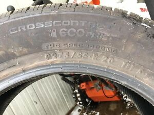 4 New Continental Crosscontact LX EcoPlus Tires p275/55R20