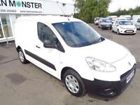 Peugeot Partner L1 850 S 1.6 HDI 92 VAN DIESEL MANUAL WHITE (2013)