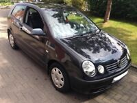volkswagen polo 1.2 2004 54 reg 5 speed manual 3 door hatchback