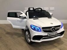 RiiRoo Licensed Mercedes AMG GLE 63 S 12V Kids Electric Ride On Car Power Wheels
