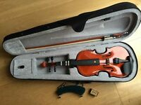 VIOLIN 1/2 size plus 7 violin books