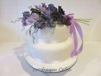 Sugar Flower Bouquet wedding celebration cake topper keepsake