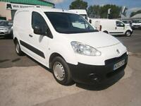Peugeot Partner 850 S 1.6HDI 92ps Van DIESEL MANUAL WHITE (2012)