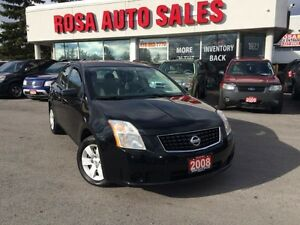 2008 Nissan Sentra 4dr AUTO CVT 2.0 LOW KM SAFETY ETEST NO ACCID