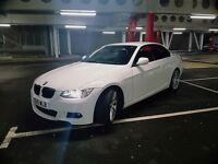 BMW 320D M SPORT HIGHLINE CONVERTIBLE 66K MILES FSH NOT A4 A5 330 325 A3 GOLF LEON E CLASS REPLICA