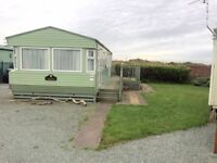 Static caravan for sale north west Lake District 12 month season ocean edge holiday park