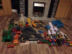 HUGE Thomas Trackmaster Toy Bundle