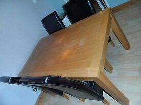 dining table approx 5ft