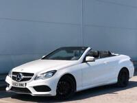 * 2014 MERDEDES BENZ E220 CONVERTIBLE 7G-Tronic AMG SPORT + ALLOYS + RED ROOF *