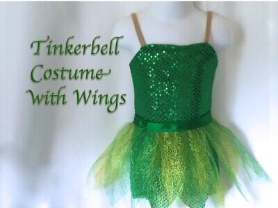 Tinkerbell costume sizes 2T through 6/6x (Tinkerbell Costume 2t)